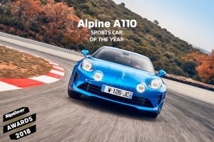 "Alpine A110 ist ""Sports Car of the Year"""